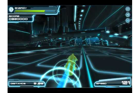 Tron Legacy Lightcycle flash game - YouTube