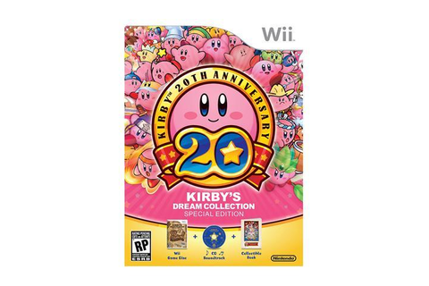 Kirby's Dream Collection: Special Edition Wii Game ...