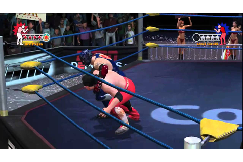 Lucha Libre AAA: Heroes Del Ring: Singles Match - YouTube
