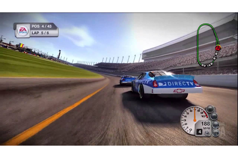 NASCAR 08 - 2007 (Gameplay) - YouTube