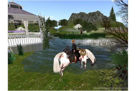 Second Life - Horse Games Online