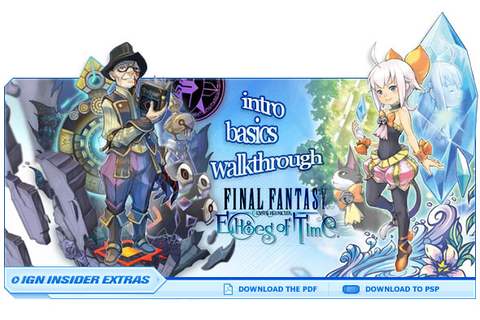 Final Fantasy Crystal Chronicles: Echoes of Time - ds ...