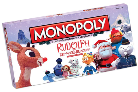 Monopoly: Rudolph The Red-Nosed Reindeer Collector's ...