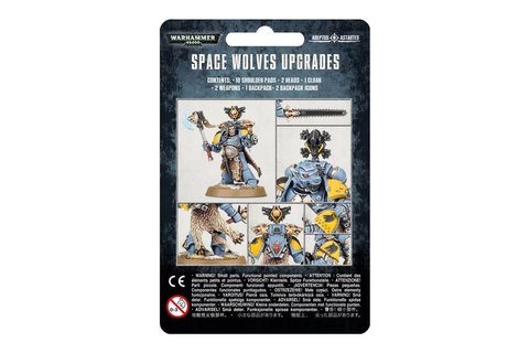 Games Workshop Space Wolves Upgrade Pack - Kingdom of the ...