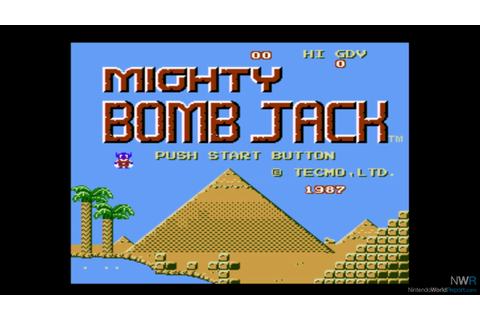 Mighty Bomb Jack - Game - Nintendo World Report