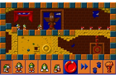All New World of Lemmings (DOS, Amiga) Game Download