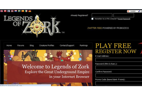 Legends of Zork Launched