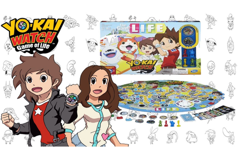 Duel Time: Yo-Kai Watch Game of Life featuring Olivia ...