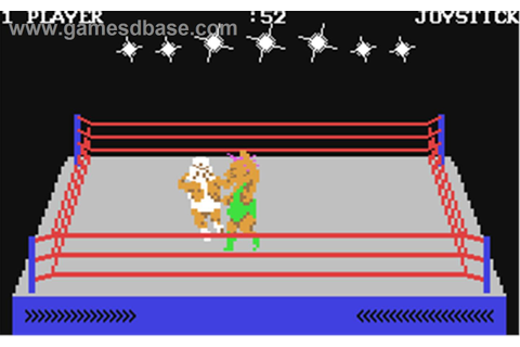 Rock'n Wrestle (Commodore 64) | Classic video games, Retro ...