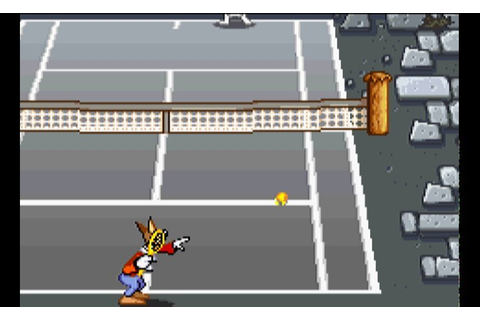 Play Droopy's Tennis Open • Game Boy Advance GamePhD