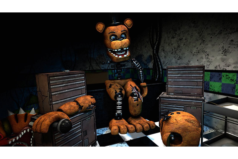 [FNAF Help Wanted] Repairing Withered Freddy Game-play ...
