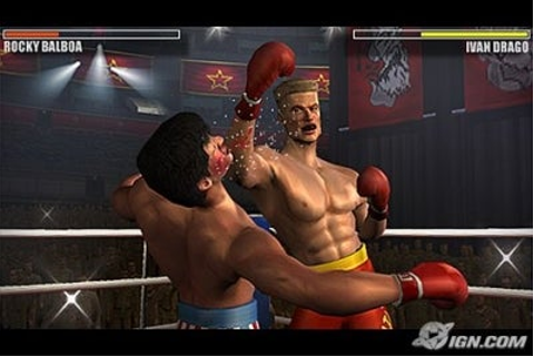 Rocky Balboa (PSP) (Damn Ubisoft tighten up the graphics ...