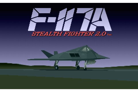 F-117A Nighthawk Stealth Fighter 2.0 (2014) by Microprose ...