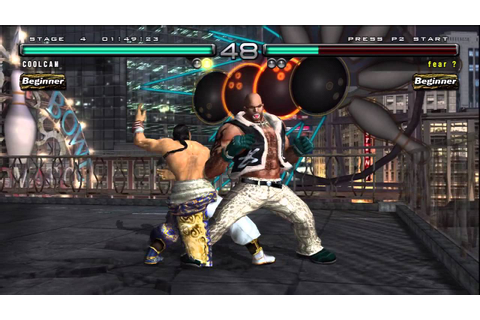 HD PVR Test 1 - Tekken 5: Dark Resurrection (PS3) - YouTube