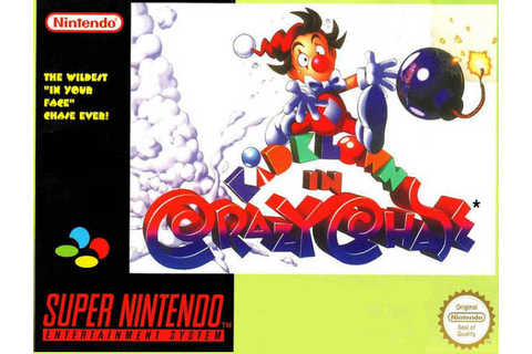 Kid Klown In Crazy Chase: Super Nintendo SNES For Super ...