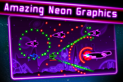 Neon Wars App for iPad - iPhone - Games - app by Henrique