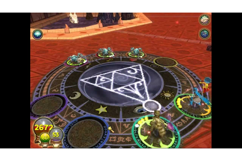 W101 Wizard101 Luminous Weaver Crafted Life Spell Test ...