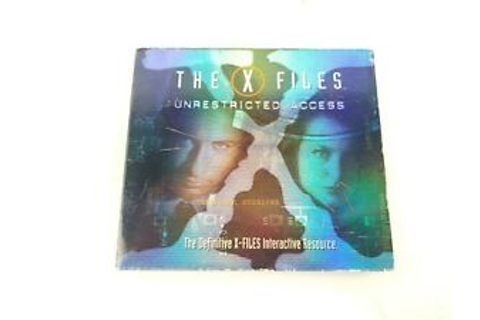 PC CD ROM The X-Files Unrestricted Access, 2 Game CDs with ...
