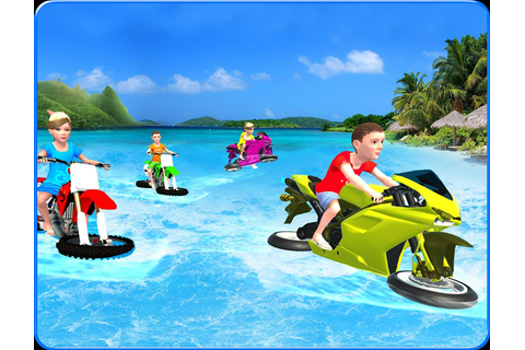 Kids Water Surfing Bike Racing APK Download - Free ...