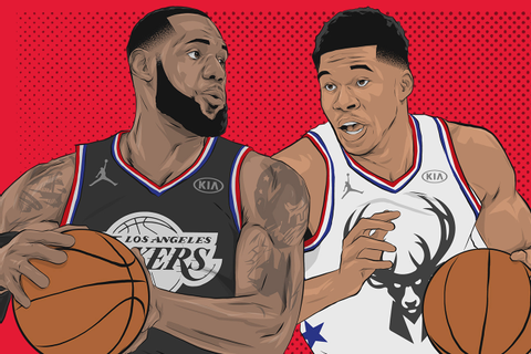 NBA All-Star Game 2019 - Draft your own team as LeBron or ...