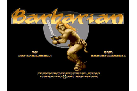 Barbarian Download (1987 Amiga Game)