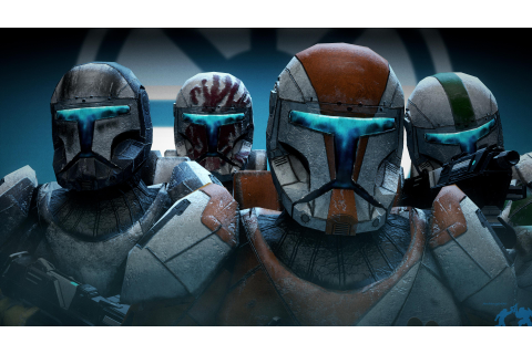 Re-creation of the Star Wars: Republic Commando title ...