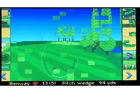Microprose Golf on the Amiga - YouTube