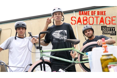 SABOTAGE GAME OF BIKE! - YouTube
