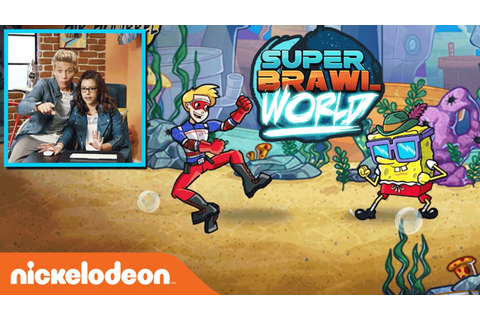 "Game Shakers Play ""Super Brawl World"" 