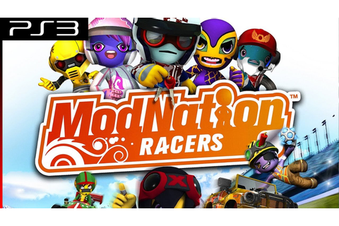 Playthrough [PS3] ModNation Racers - YouTube