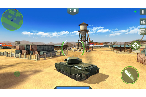 War Machines: 3D Multiplayer Tank Game ️Best Android-iOS ...