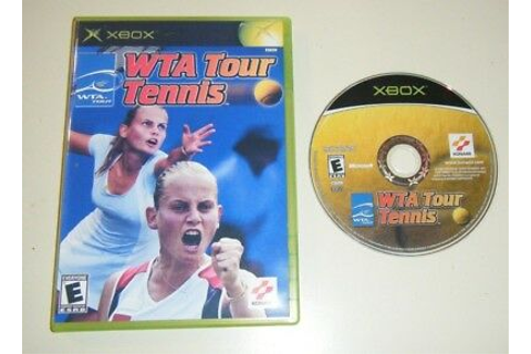 "WTA Tour Tennis GAME for your original XBOX system GC ""E ..."