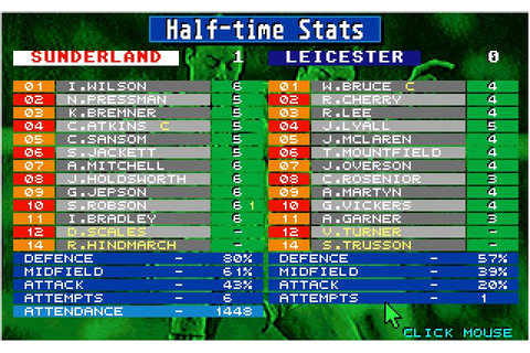 Download Championship Manager sports for DOS (1992 ...