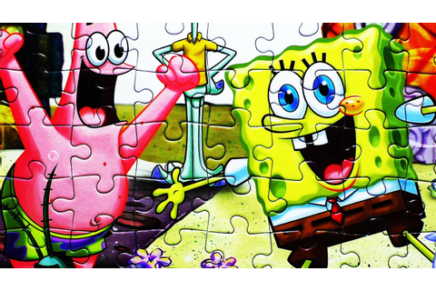 SPONGEBOB SQUAREPANTS Jigsaw Puzzle Game Play Puzzles De ...