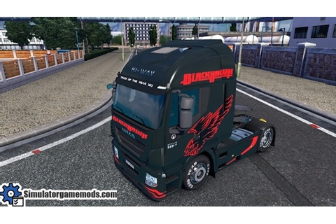 Iveco Hi-Way zBlack Hawk Truck Skin | Simulator Games Mods ...
