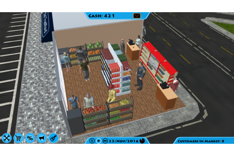 Market Tycoon - FREE DOWNLOAD | CRACKED-GAMES.ORG
