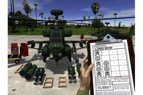 Jane's AH-64D Longbow Gold Download (1997 Simulation Game)