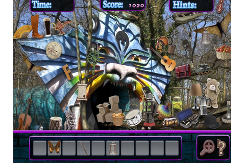 Hidden Object Haunted Scary Theme Park - Mystery - Android ...