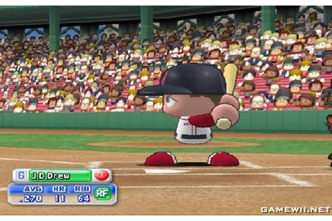 MLB Power Pros 2008 - Download Game Nintendo