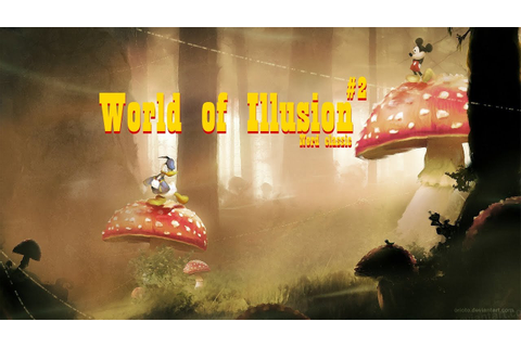 Прохождение World of illusion starring Mickey Mouse and ...