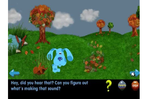 Blue's Clues #304 : What's that sound? (Windows game 1999 ...