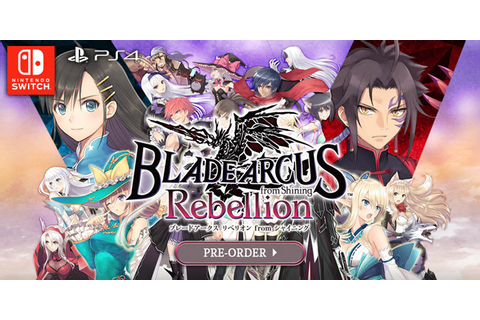 Blade Arcus Rebellion from Shining: 2D Fighting Game ...