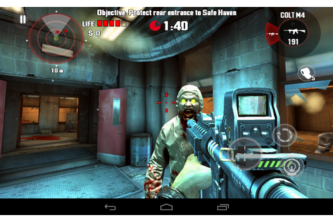 DEAD TRIGGER - HD first-person shooter game, a Zombie ...