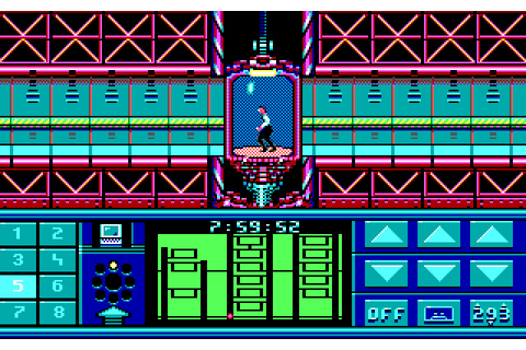 Download Impossible mission 2 action for DOS (1988 ...