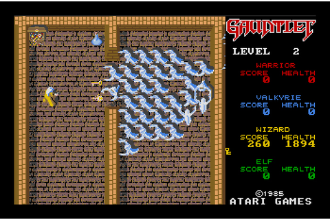 My all time favourite video games: Gauntlet - Atari ST - 1987