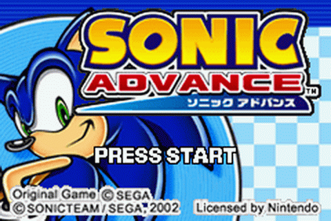 Play Sonic Advance Nintendo Game Boy Advance online | Play ...
