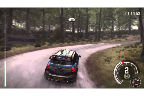 Dirt rally ps4 - best sound rally-game - YouTube