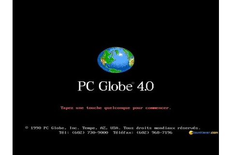 PC Globe gameplay (PC Game, 1990) - YouTube