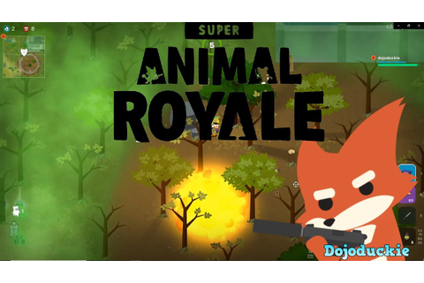 Super Animal Royale: Epic Solo Games - YouTube