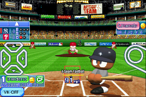 feliz: MLB Power Pros v1.2 For Android Apk Game